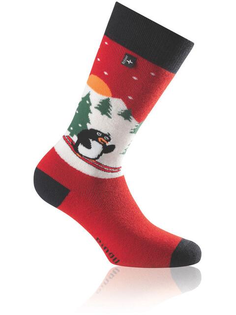 Rohner Pinguin Socks Children red
